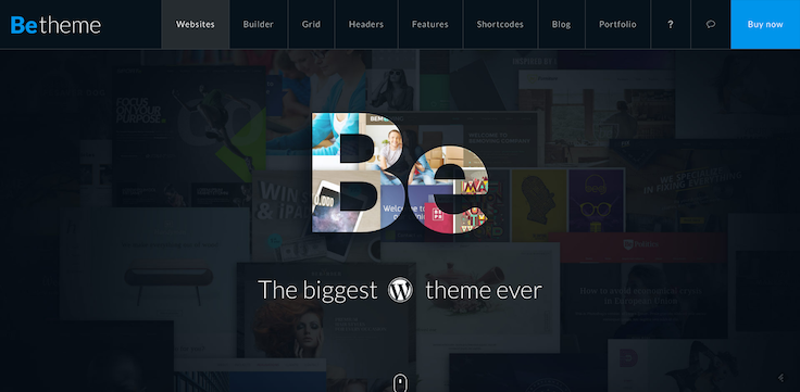 Be Theme WordPress
