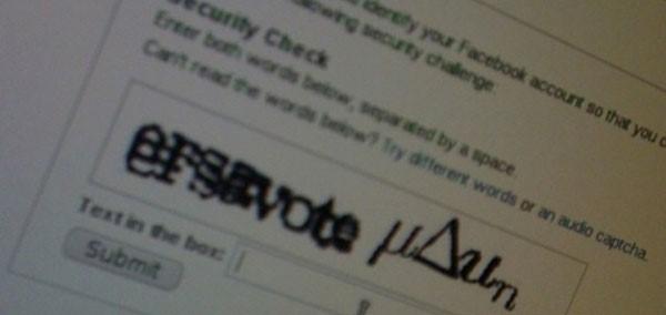 Prenez le temps de vérifier les CAPTCHA
