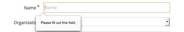 Utilisez HTML5 pour les types d'entrée corrects