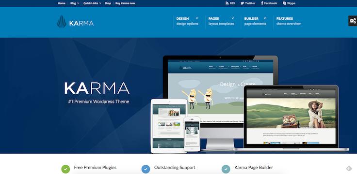 karma thème WordPress