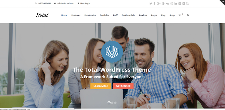 Total thème WordPress