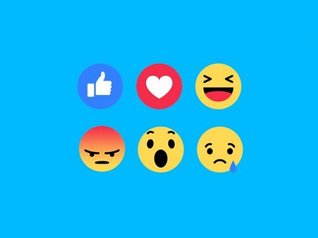 Les types d'émotions sur Facebook