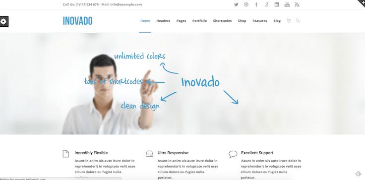 Inovado thème WordPress
