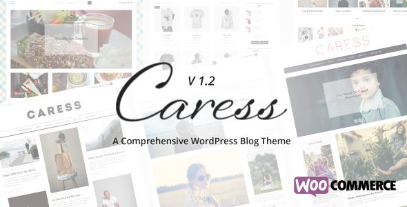 thème WordPress Caress pour les blog